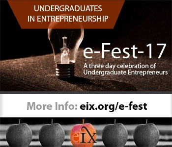 Announcing E-Fest: A competition for undergraduates
